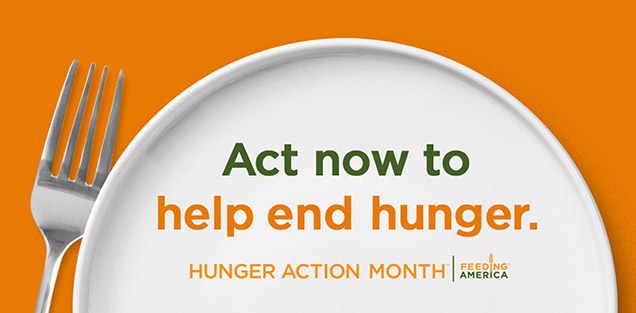 #HungerActionMonth slider