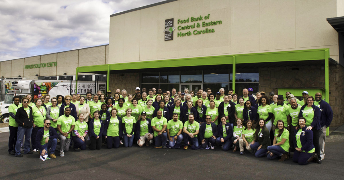 Food Bank all staff 2017